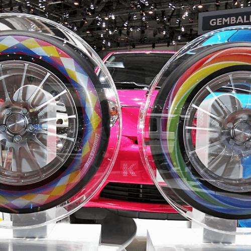 Innovasi Terbaru Ban Mobil Berwarna Bridgestone