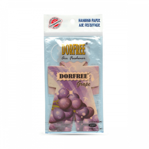 Dorfree Hanging Paper Air Freshener Grape