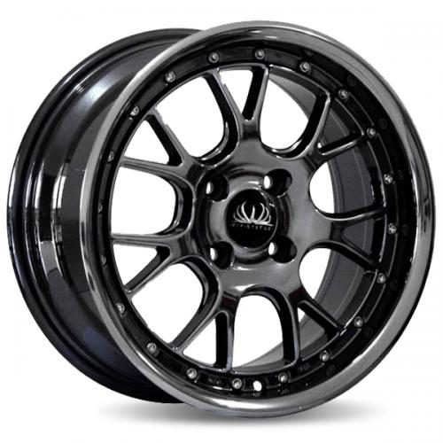 VIP Status NS-03 Black Chrome Murah