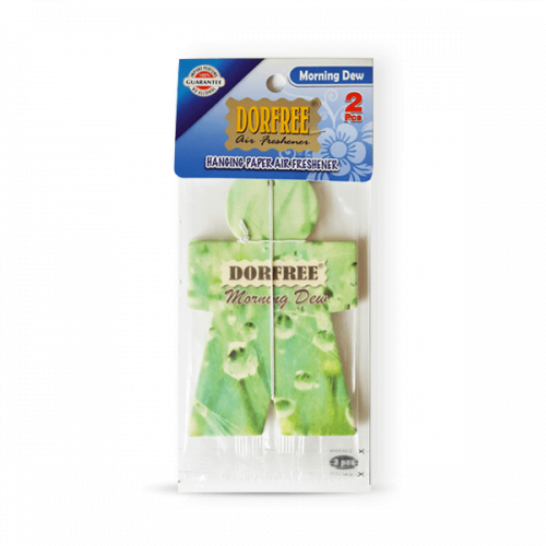 Dorfree Hanging Paper Air Freshener Morning Drew