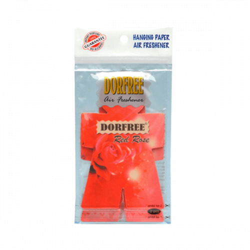 Dorfree Hanging Paper Air Red Rose