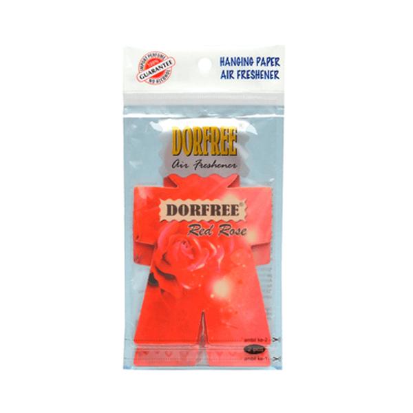 Dorfree Hanging Paper Air Red Rose