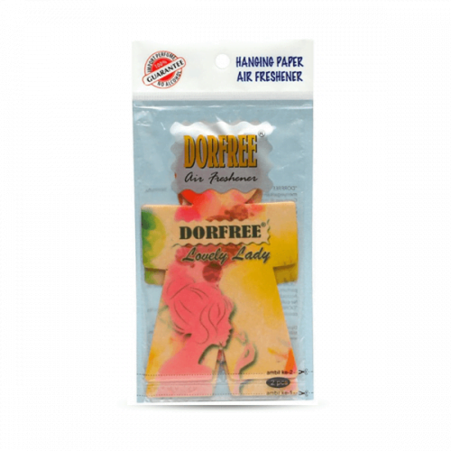 Dorfree Hanging Paper Air Freshener Lovely Lady