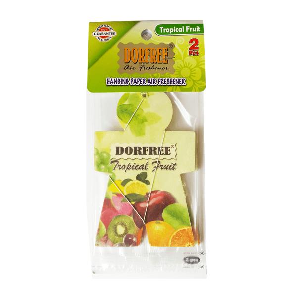 Dorfree Hanging Paper Air Freshener Tropical Fruit