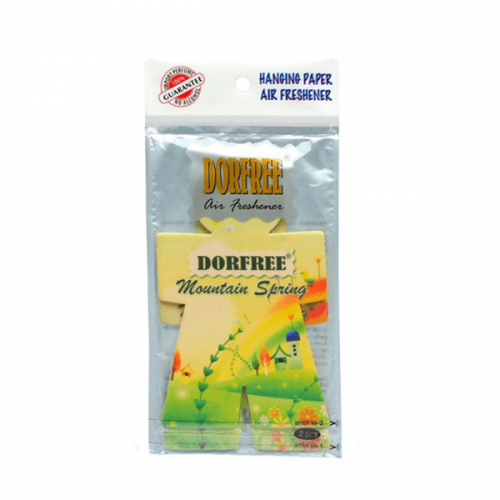 Dorfree Hanging Paper Air Freshener Mauntain Spring