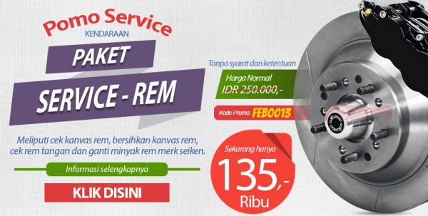 Promo Service Rem Murah