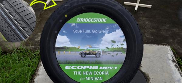 Bridgestone ban mobil ramah lingkungan