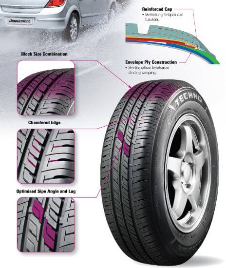 Keunggulan Bridgestone Techno Tecaz