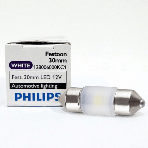 Philips LED FESTOON 30MM 12V WHITE