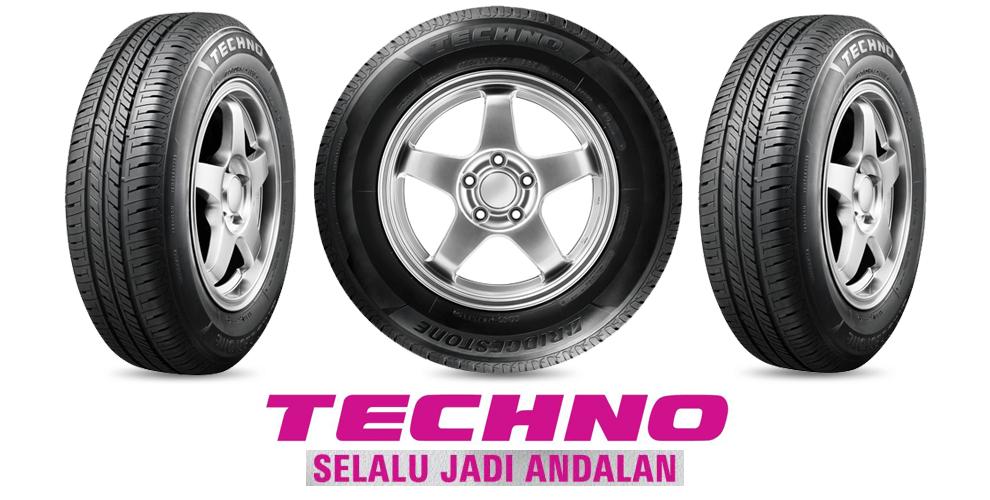 Ban Mobil Bridgestone Techno Tecaz Daihatsu Xenia