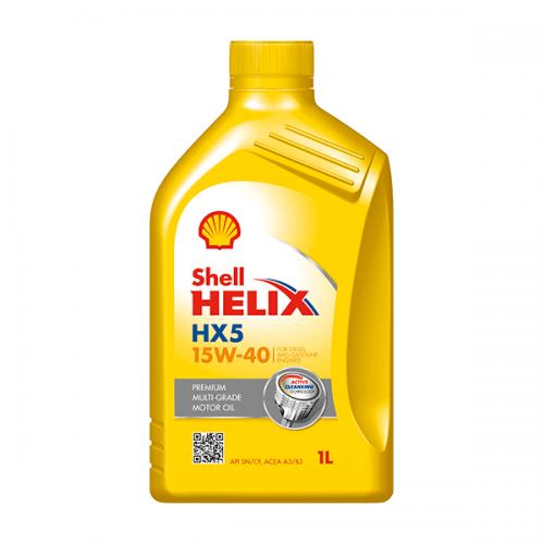 SHELL HELIX HX5 15W-40 1LT