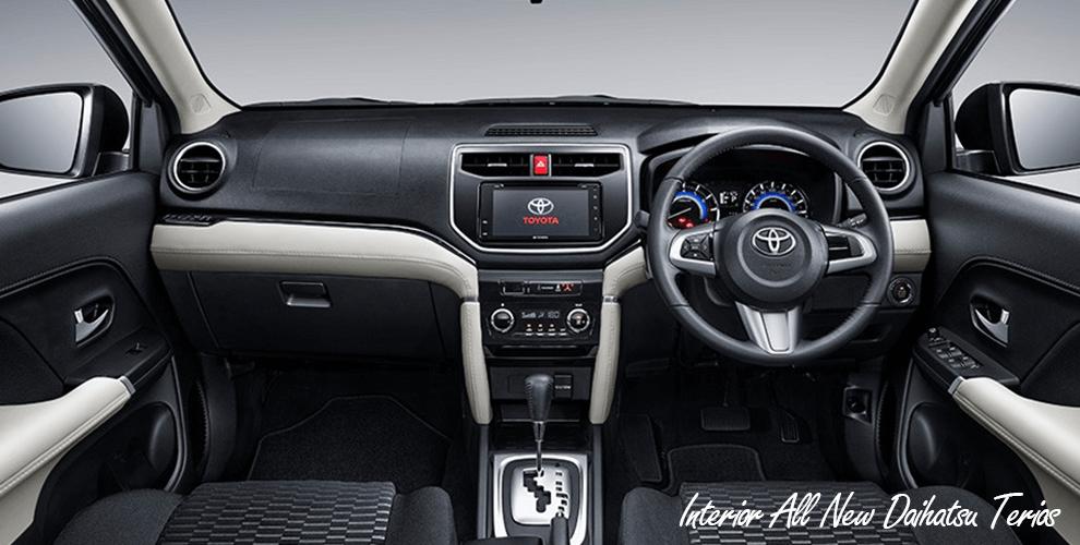 Interior All New Daihatsu Terios