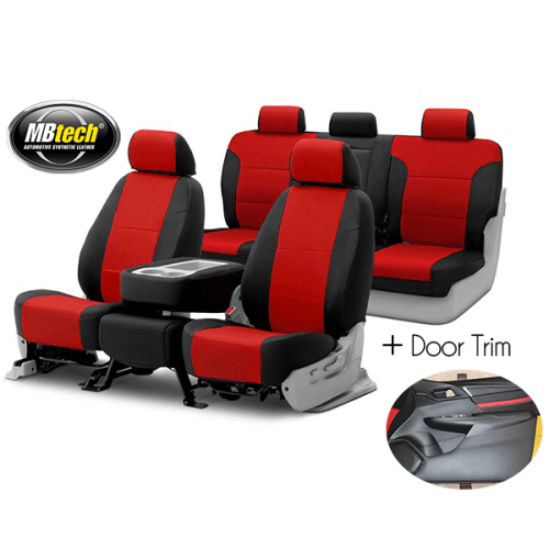 MBtech Sarung Jok 2 Baris + Door Trim