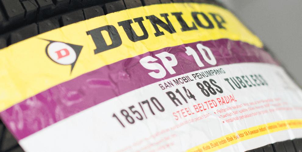 Ban Mobil Dunlop SP10 Avanza