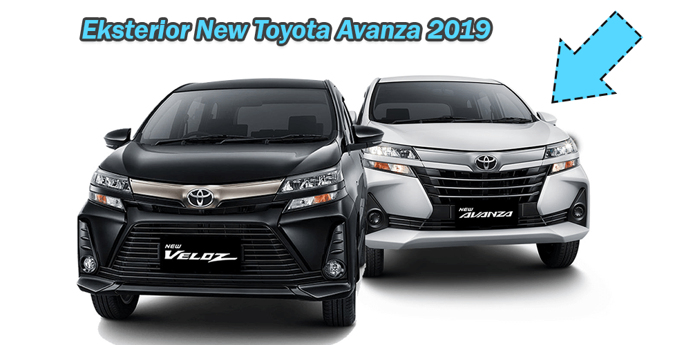 Eksterior New Toyota Avanza 2019