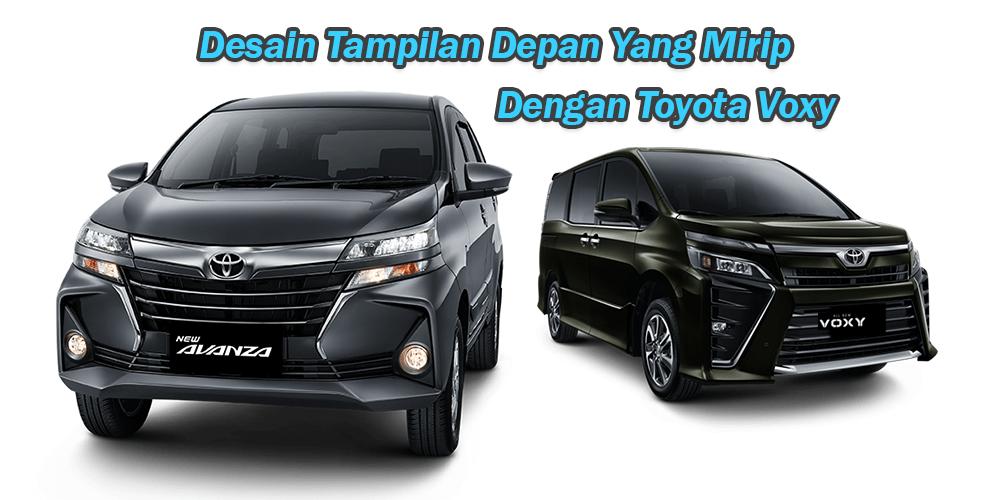 Desain Tampilan Depan Yang Mirip Toyota Voxy